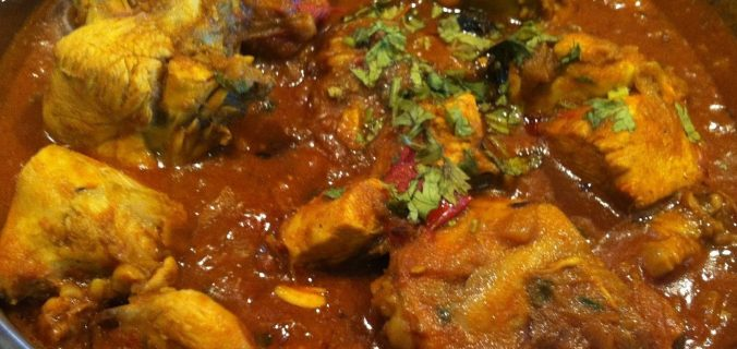 Spicy and juicy chicken gravy