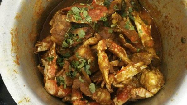 Crab masala , Crab Gravy