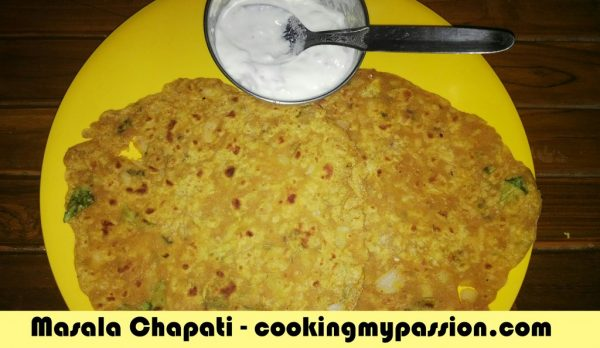 Masala chapati