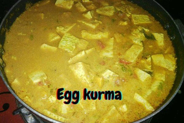Egg kurma
