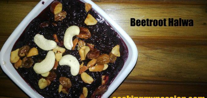 beetroot-halwa-milk