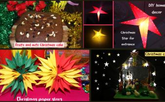 Christmas celebration decors cake 2020