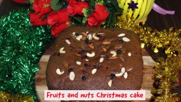 plum cake - Christmas cake recipe