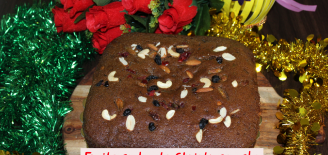 plum cake - Christmas cake recipe