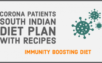 Corona virus patients south indian diet paln