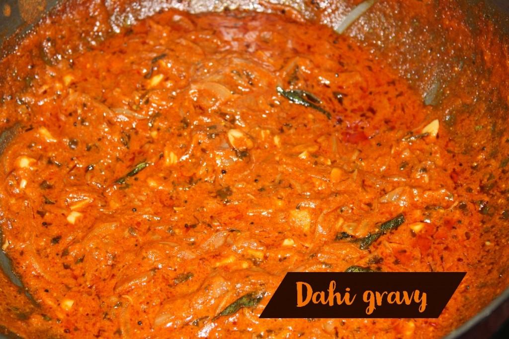 Dahi Gravy