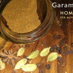 Home made garam masala powder