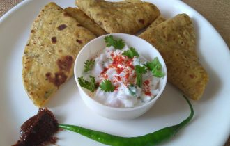 Methi thepla is the popular thelpa recipe