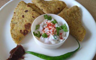 Methi thepla is the popular thelpa recipe