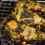 Hariyali grilled chicken