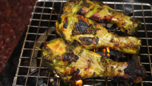 Hariyali grilled chicken