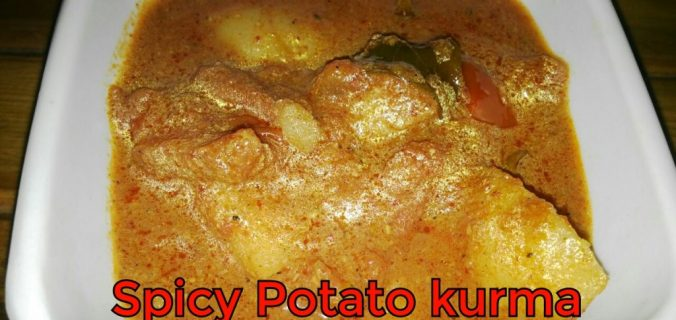 Spicy potato Kurma