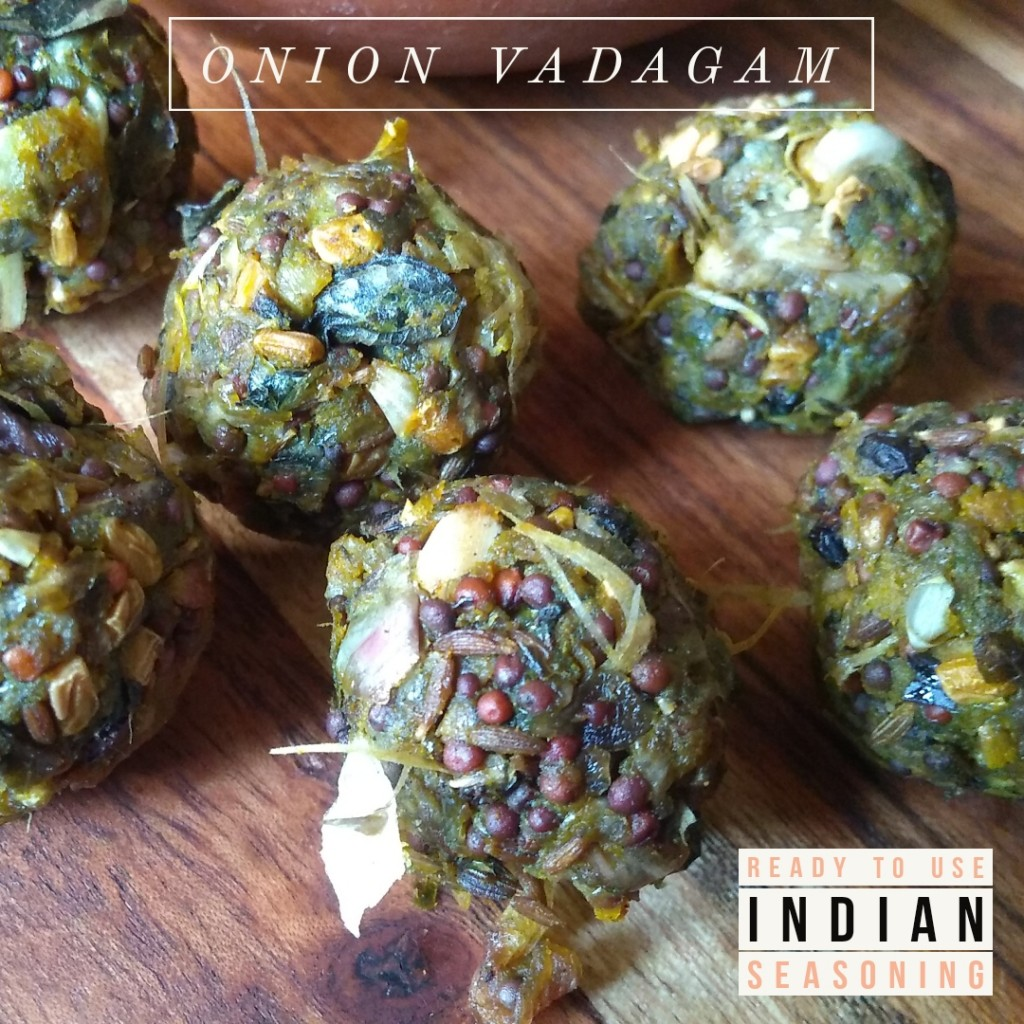 Onion Vadagam