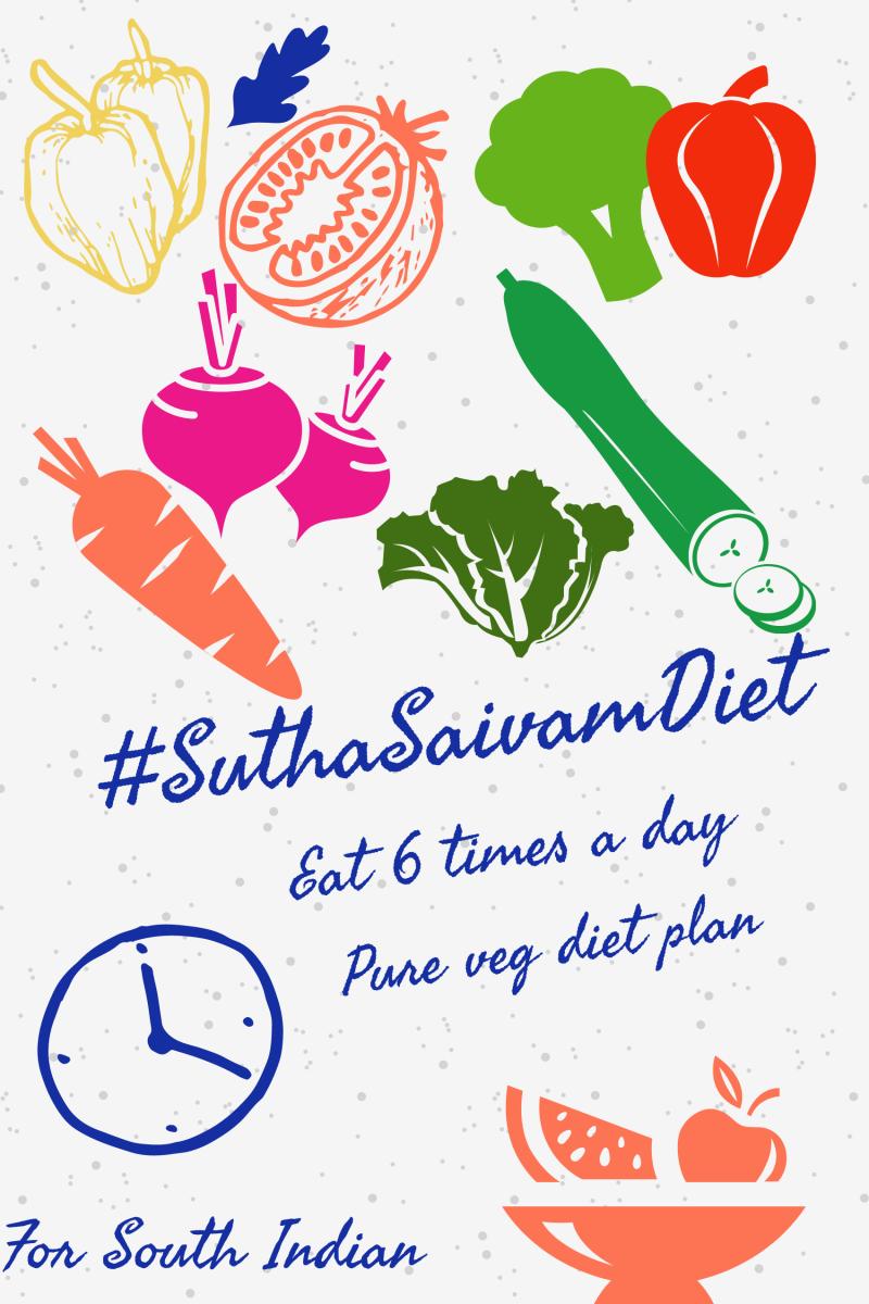 SuthaSaivam diet plan