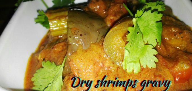 dry-shrimps-gravy-drumstick-brinjal