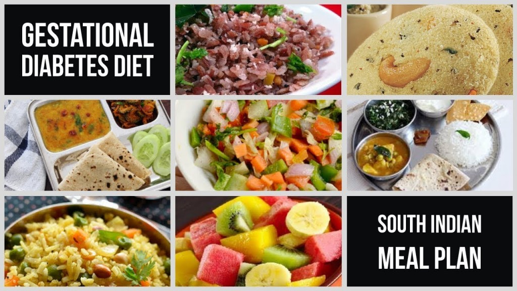 gestational diabetes south indian meal plan with recipes