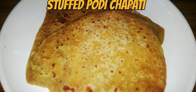 stuffed-podi-chapati