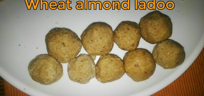 wheat-almond-ladoo