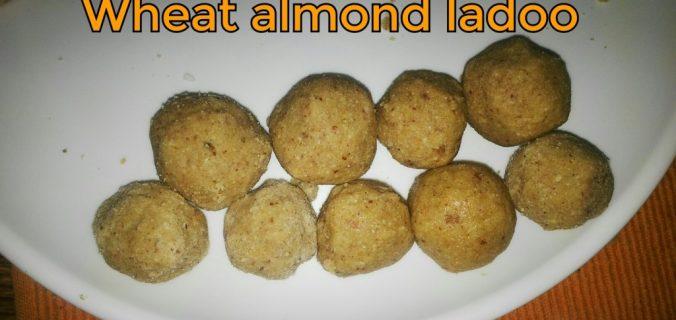 wheat-almond-ladoo